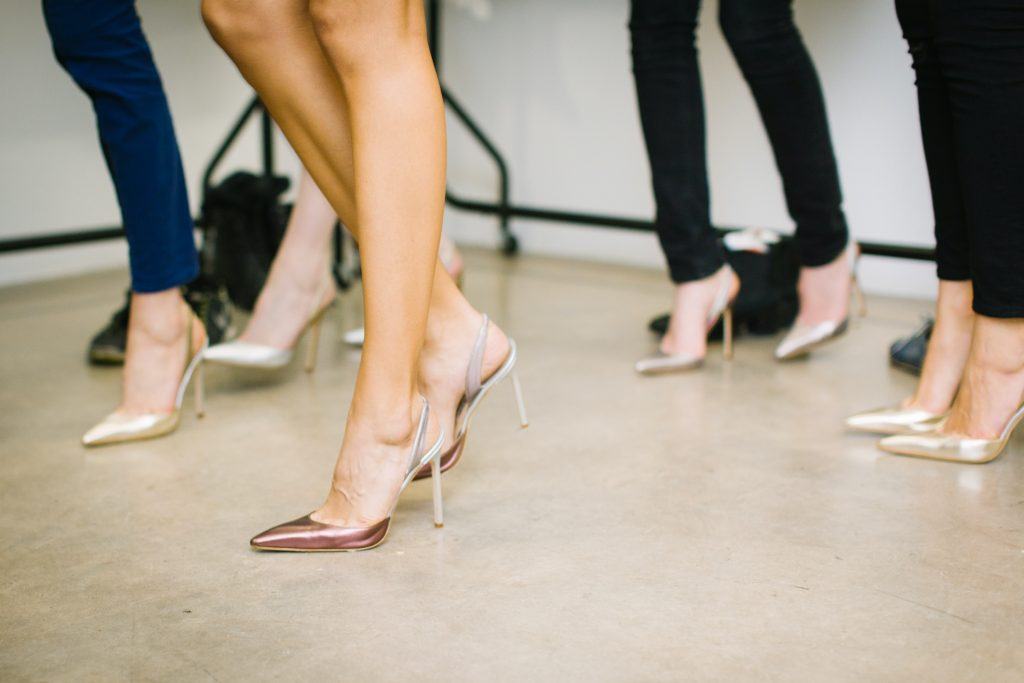 different types of high heels