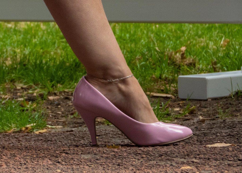 Pink Medium Heels