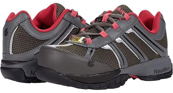 Nautilus Safety Footwear N1393 Alloy Toe Work Sneaker