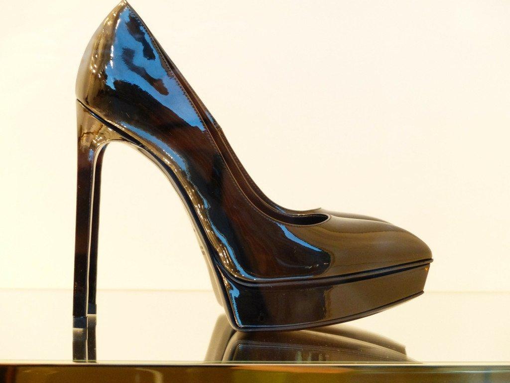 Very High Black Heels